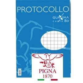 PROTOCOLLO A4 4MM 30FG 80GR PIGNA