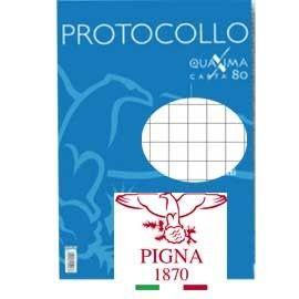 PROTOCOLLO A4 5MM 30FG 80GR PIGNA