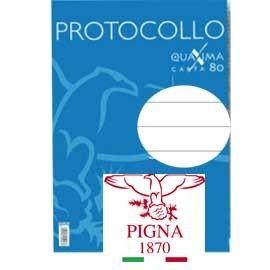 PROTOCOLLO A4 1RIGO 30FG 80GR PIGNA
