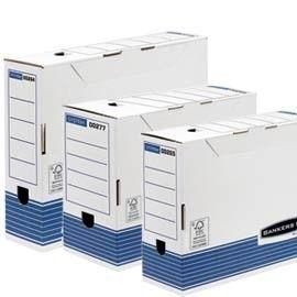 SCATOLA ARCHIVIO A4 DORSO 100MM BANKERS BOX SYSTEM