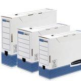 SCATOLA ARCHIVIO LEGALE DORSO 83MM BANKERS BOX SYSTEM