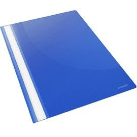 CARTELLINA PPL CON FERMAFOGLI 21X29,7 BLU REPORT FILE ESSELTE