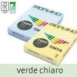 CARTA COPY TINTA A4 80GR 500FG COL.TENUE VERDE CHIARO