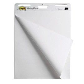 BLOCCO LAVAGNA 30FG MEETING CHARTS 559RP 63,5X77,5CM POST-IT