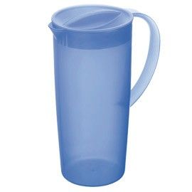 CARAFFA 1,2LT IN PPL CON COPERCHIO BLU