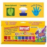 TEMPERA SOLIDA PLAYCOLOR 12 COLORI in STICK da 10GR