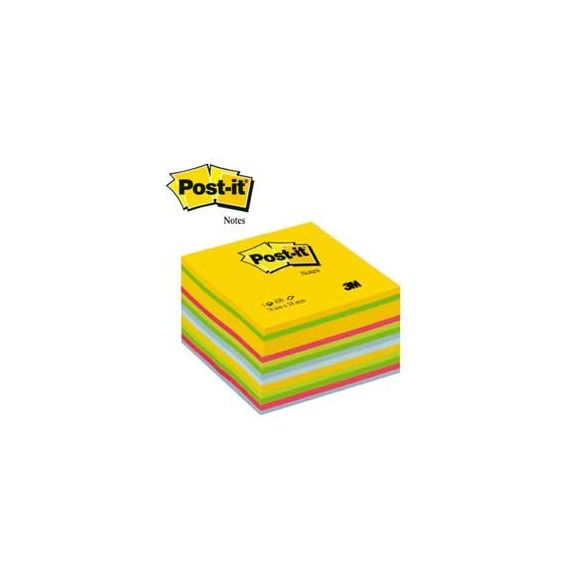 BLOCCO CUBO 450foglietti Post-it 76x76mm 2030-U ULTRACOLOR