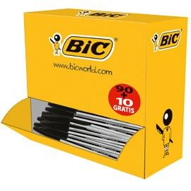 DISPENSER VALUE PACK 90+10 PENNE A SFERA BICCristal Medium NERO