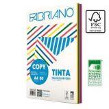 CARTA COPY TINTA MULTICOLOR A4 80gr 250fg mix 5 colori forti