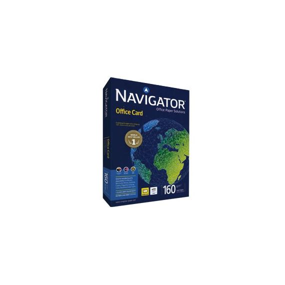 CARTA NAVIGATOR office card A4 160GR 250FG 210X297MM
