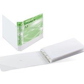 RACCOGLITORE STELVIO TI 42x30 25 4D A3-Album BIANCO
