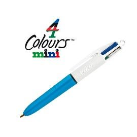 SCATOLA 12 PENNE SFERA SCATTO 4 Colours MINI BIC