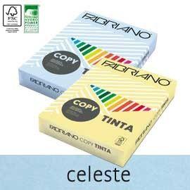 CARTA COPY TINTA A3 160gr 125fg col.tenui CELESTE FABRIANO