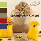 100 BUSTE REGALO IN PPL MAT A everyday classic 20x35cm 5 colori assortiti