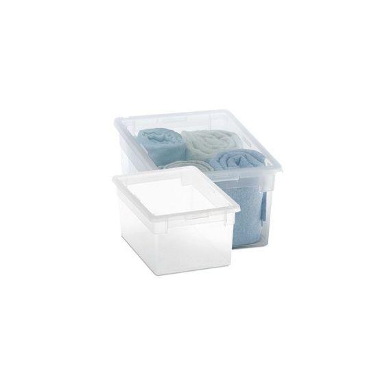 CONTENITORE MULTIUSO 19,5x28x H13,2CM - 6LT LIGHT BOX M/2