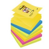 BLOCCO 90foglietti Post-itSuper Sticky Z-Notes 76x76mm R330-6SS-RIO D/J