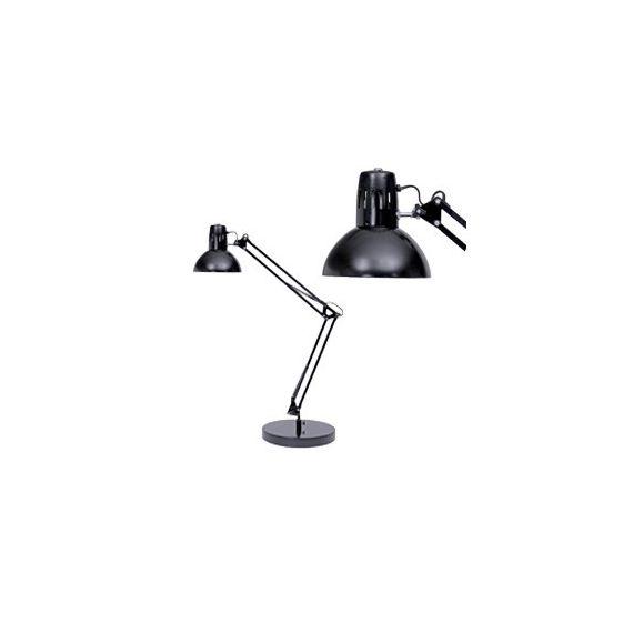 LAMPADA DA TAVOLO A FLUORESCENZA ARCHITECT NERO ALBA
