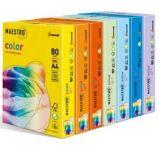 Carta IQ COLOR A4 210x297mm 80gr 250fg mix 5 colori tenui RB01 MONDI