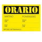 CARTELLO IN CARTONCINO 23x32cm CWR 315/13