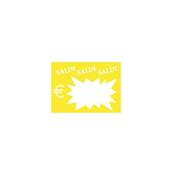 50 SEGNAPREZZI Flash Saldi 8x11cm colori ass. CWR 06043