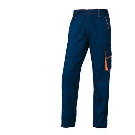 PANTALONE da LAVORO M6PAN blu/arancio Tg. XL PANOSTYLE
