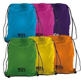 SACCHETTO T-BAG IN NYLON 38X50cm COLORI ASSORTITI