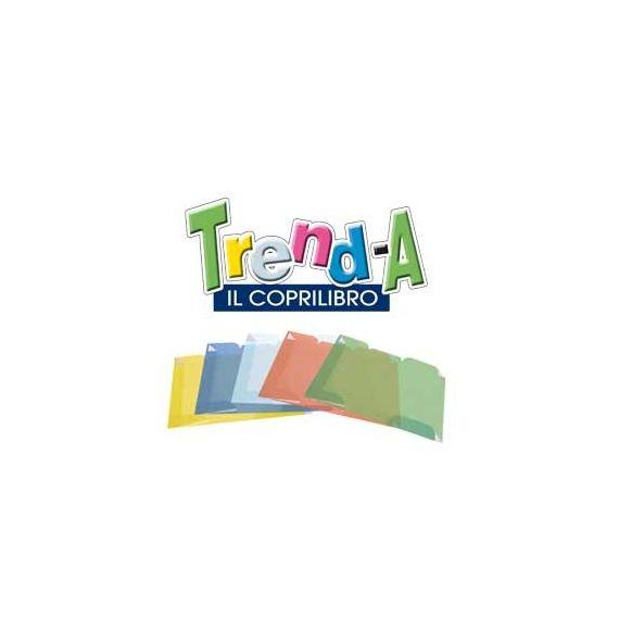 5 COPRILIBRO TREND-A PREFORMATO TRASPARENTE fino a 48x31cm RI.PLAST