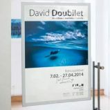 DURAFRAME Poster A2 42x59,4cm ARGENTO DURABLE