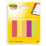 SEGNAPAGINA POST-IT 670-5JA-EU 250FG in 5COLORI INDEX 12,7x44mm in CARTA