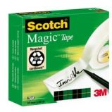 NASTRO ADESIVO SCOTCH MAGIC 810-2566 25mmX66mt INVISIBILE PERMANENTE