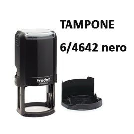 BLISTER 2 TAMPONCINO 6/4642 NERO TRODAT