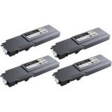 TONER GIALLO DELL C3760n/3760dn/3765dnf STAND. CAP.