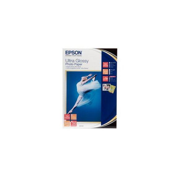CARTA FOTOGRAFICA LUCIDA ULTRA FORMATO 50fg 10X15CM (4X6) 300gr EPSON