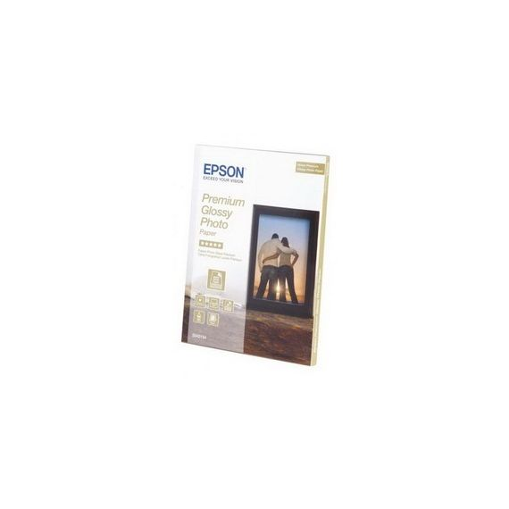 CARTA FOTOGRAFICA LUCIDA PREMIUM BEST 30fg 255gr 13x18cm (5X7) EPSON