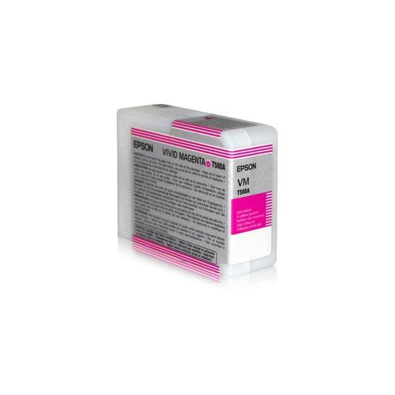 TANICA INCHIOSTRO A PIGMENTI EPSON ULTRACHROME K3 VIVID-MAGENTA (80ML).