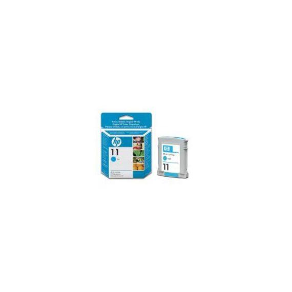 CARTUCCIA A GETTO DINCHIOSTRO HP N.11 CIANO 28ML