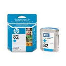 CARTUCCIA A GETTO DINCHIOSTRO HP N.82 CIANO 69ML
