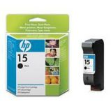 CARTUCCIA A GETTO DINCHIOSTRO HP N.15 NERO 25ML