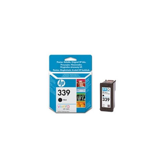 CARTUCCIA A GETTO DINCHIOSTRO HP N.339 NERO 21ML