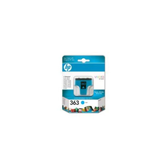 CARTUCCIA GETTO DINCHIOSTRO HP 363 CIANO