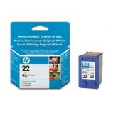 CARTUCCIA A GETTO DINCHIOSTRO HP 22XL TRICROMIA
