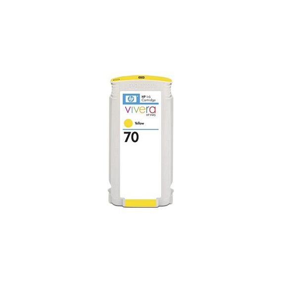CARTUCCIA DINCHIOSTRO HP 70 GIALLO CON INCHIOSTRO HP VIVERA