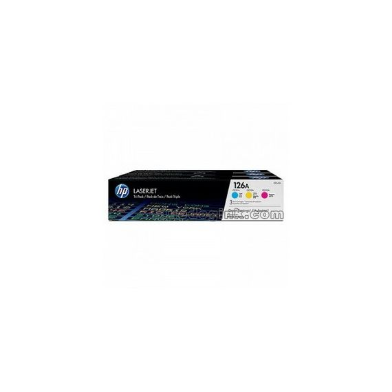 HP126A COLOR TRI-PACK LASERJET TONER CARTRIDGE
