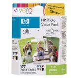 KIT FOTOGRAFICO HP PHOTO PACK SERIE 363 10X15CM 150FG