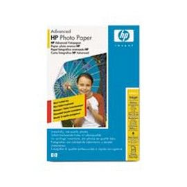 RISMA 60 FG CARTA HP ADVANCED GLOSSY PHOTO PAPER 250 G/M-10 X 15CM BORDERLESS