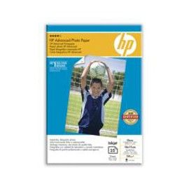RISMA 25 FG CARTA HP ADVANCED GLOSSY PHOTO PAPER 250 G/M-10 X 15 CM BORDERLESS