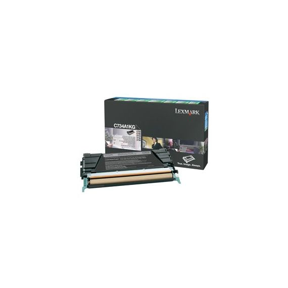 TONER NERO C734, C736, X736, X738, ALTA CAPACITA RETURN PROGRAM