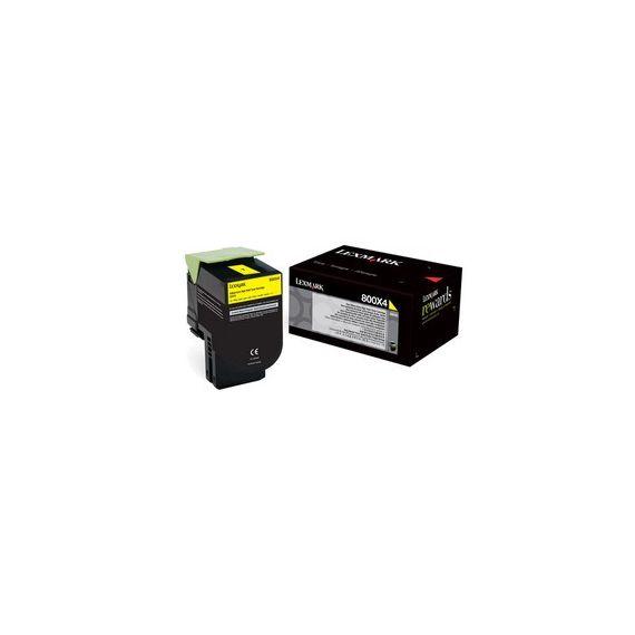 TONER GIALLO 800X4 ALTISSIMA CAPACITA CX410DE/ CX510