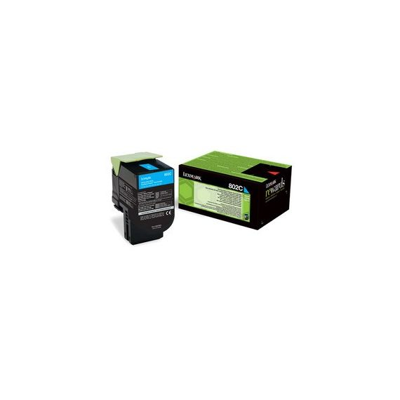 TONER 802C CIANO RETURN PROGRAM