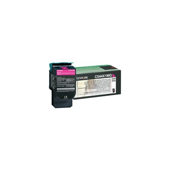 TONER RETURN PROGRAM MAGENTA C544 X544 ALTISSIMA CAPACITA